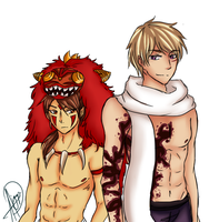 Of Humans and Beasts. by purple23cutie