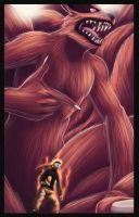 Kurama and Naruto 594 by EternaJehuty