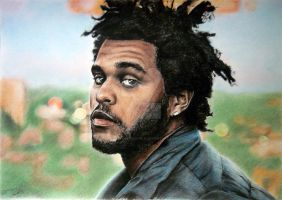Commission - The Weeknd by BestIdeaInTheApple