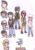 some awesome outfits and chuckles by MyaTheSquishyOctopus