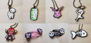 Necklaces and stuff by nastynoser