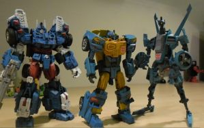 MTMTE Bots In Blue by BlurrzFire