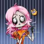 Halloween Button by Fiorina-Artworks