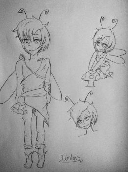 New male OC: Umber by A-sweet-nightmare
