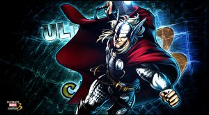 Ultimate marvel vs capcom 3 Thor by KaboXx