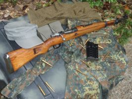 Zastava M48 guerrilla precision rifle by RobertQualls27