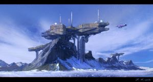 Mountain base by Javoraj
