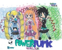 Powerpunk Girls Z: PPG Ai by kuku88