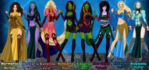 The Sisters D'Jinn by Gothicthundra