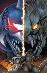 Godzilla Rulers of Earth issue 6 cover by KaijuSamurai