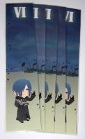 Kingdom hearts Zexion bookmark by knil-maloon