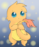 Furry Charmander by LizardBat