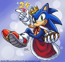 ~24 Years of Royal Blue~ by SailorMoonAndSonicX