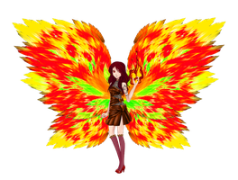 Fire-Fairy by Jaquelinchen
