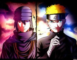 Naruto and Saske_The Last by suiken22 by suiken22