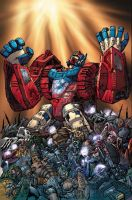 TF Botcon Wreckers 2 cover by Dan-the-artguy