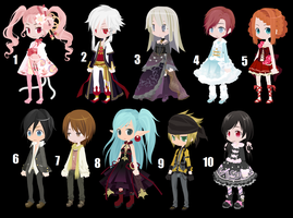 DTA/WTA Selfy Adopts 1 CLOSED by KaylasAdopts