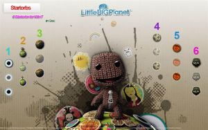 LittleBigPlanet StartOrbs by RenovatioS
