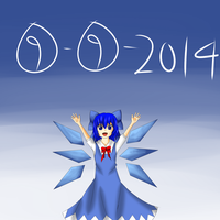 Happy Cirno Day by yuritho