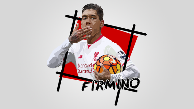 Wallpaper | Firmino by NiromaArts