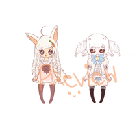 My First Adoptable Set Preview by BearyBu