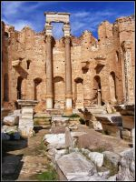 Leptis Magna XIII by Arawn-Photography