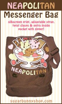 Neapolitan Messenger Bag by celesse