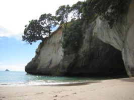 Cathedral Cove by anutka-milashka