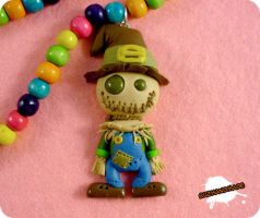 FIMO - Scarecrow Wizard of OZ by buzhandmade