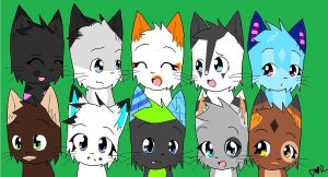 All Of My Biggest Friends On DA by Gylfie01