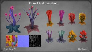 Tales Of Arianrhod: Flowers by Ulamb