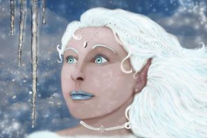 The Snow Queen by RowanLewgalon