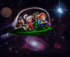 The Jetsons by Don Whitt by donwhitt