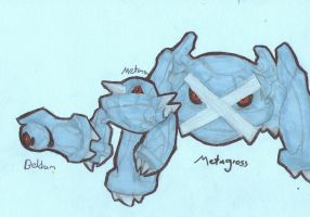 beldum metang and metagross