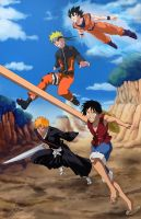 Shonen Jump All-Stars by Adyon
