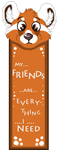 My friends are... by Foxface-x3
