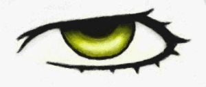 ds eye  drawing by cat2198