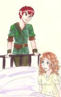 Disney and Once Upon a Time Peter and Wendy by hopelessromantic721