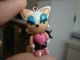 Rouge the Bat Charm by knuxnbats