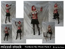 Northern Sky Pirate Pack 2 by mizzd-stock