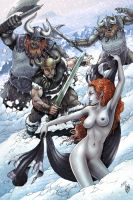 Conan : The Forst Giant's Daughter by RubusTheBarbarian