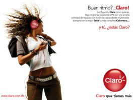 Claro Institutional ad prints by Domenicos