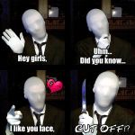 4 Panel Slenderman Joke...thingy by ImpersonatingPanda