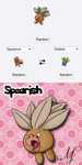 PokeFusions: Spearish by SunsetSovereign