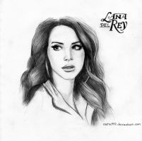 Lana Del Rey by Cate397