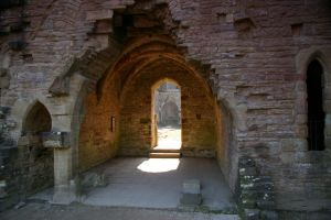 Tintern Abbey Old Passage by Eiande