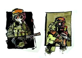 Post Apocalyptic Veterans 2 by Strelok1917