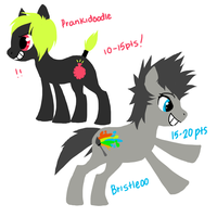 My Little Pony: FIM adoptables 2 :  CLOSED by Buttzazzle