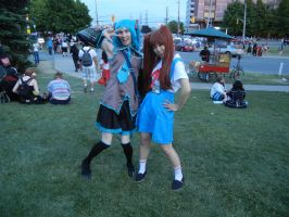 Anime North 2012 - Hatsune Miku Cosplay by jmcclare