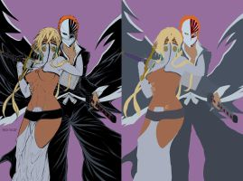 Halibel n Ichigo by Boysicat - BA - Flats by TrinityMathews